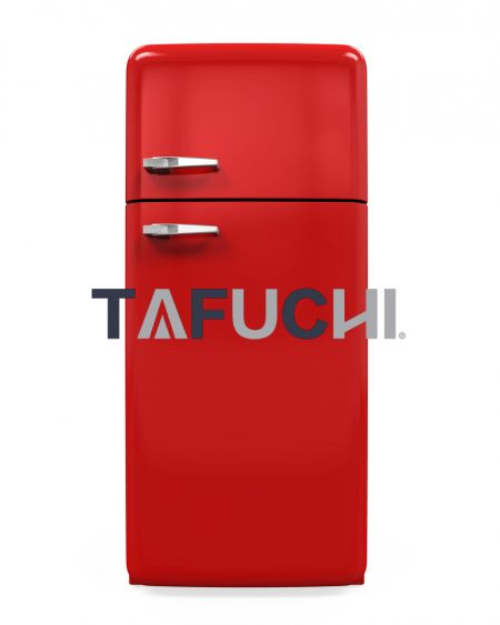 The refrigerator shell uses a high-gloss acrylic sheet. Brightly colored high-gloss acrylic sheets make the refrigerator colorful and lovely.