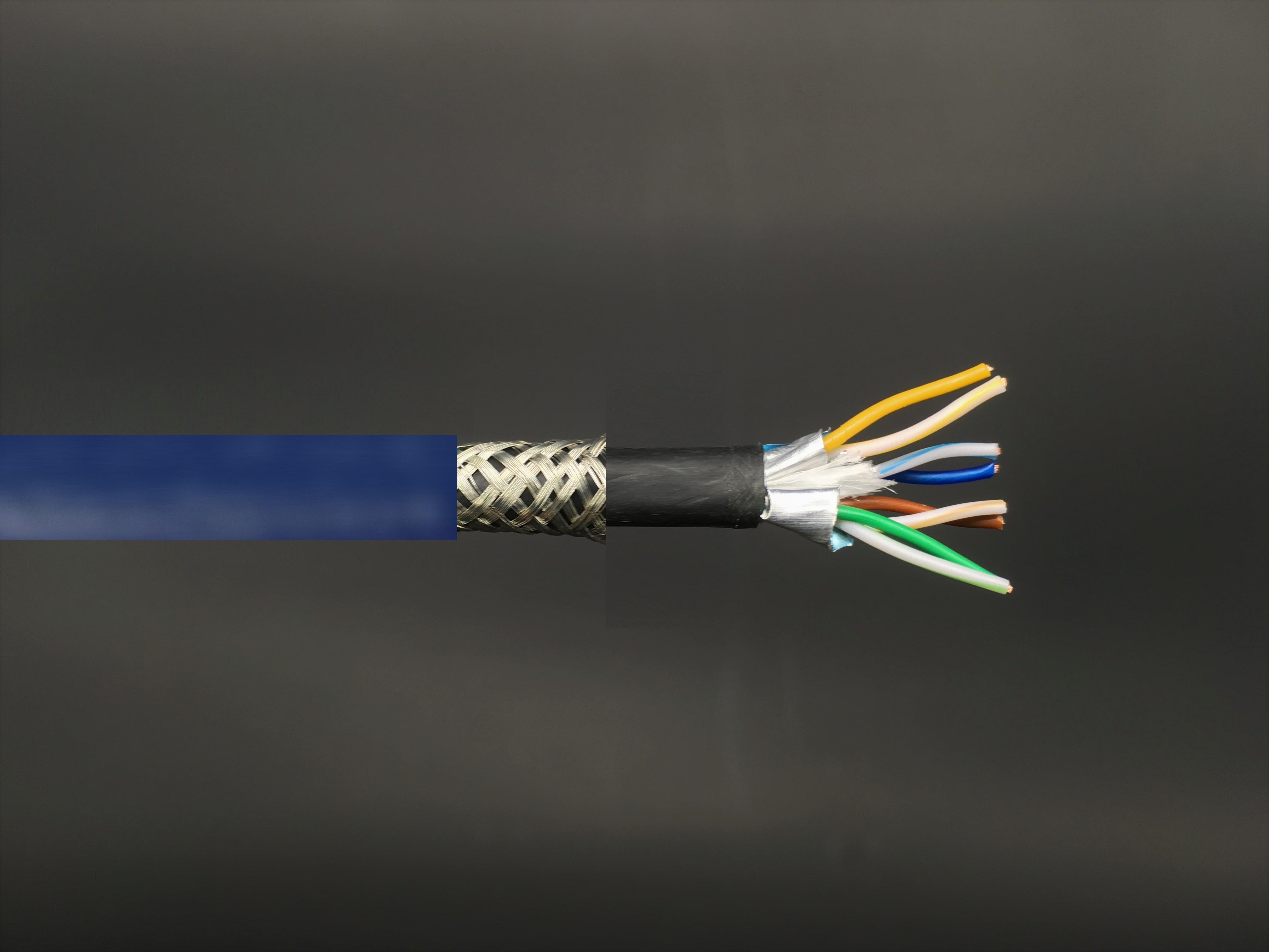CAT7 S-FTP Bulk-LAN-Kabel, 600MHz Doppelmantel