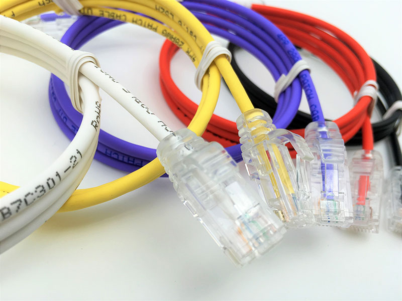 Ultraflaches 28AWG-Patchkabel