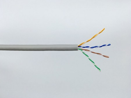 Câble LAN UTP Hyper-Data 1000 de catégorie 5e - Chat. 5e UTP, 100MHz
