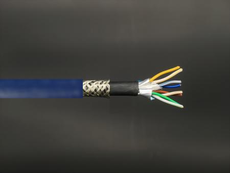 Categorie 7 LAN-kabel - CAT7 S-FTP Bulk LAN-kabel, 600 MHz dubbele mantel