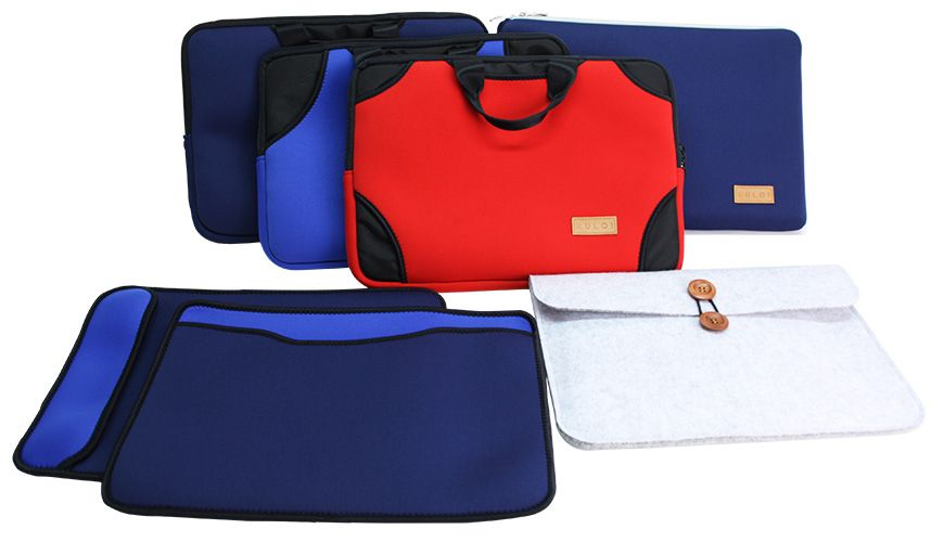 Tzung Jia can mass produce the high quality laptop cases.