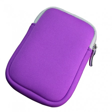 Hard Drive Case (HDD case) with Dual zippers