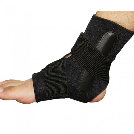 Ankle Brace with Side Stabilizer Straps - Ankle Support With Stabilized Strap