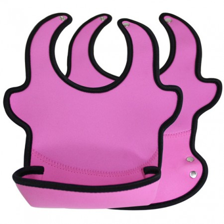 Neoprene and EVA Baby Bib with a Front Pocket - Image of Neoprene and EVA Baby Bib with a Front Pocket