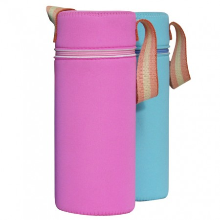 Baby Insulated Bottle Cooler/ Warmer Bag - Image of Baby Bottle Bag