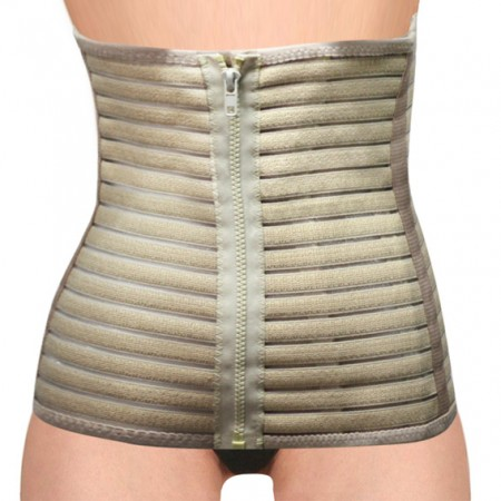 Postpartum Belt with 4 zippers design - Postpartum Girdle with 4 zippers