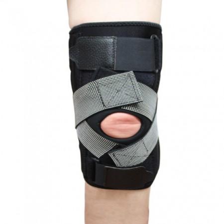 Universal Wrap Around Knee Brace / Open Patella - Adjustable Neoprene Knee Brace