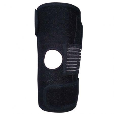 دعامة الركبة مع مثبت جانبي مزدوج - دعامة الركبة مع مثبت جانبي مزدوج