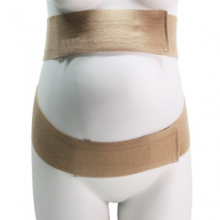 Maternity Pregnancy Belly Belt - Pregnancy Belt with Extra Size Pad Supporting