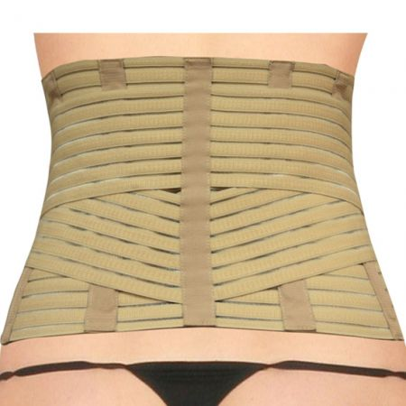 Back Support Belt With Flexible Elastic