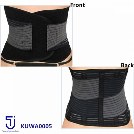 Tzung Jia always works with you to create the highest quality back support (back brace)