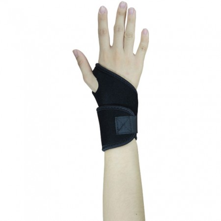 Neoprene with Velvet Wrist Protective Brace - Image of Neoprene with Velet Wrist Protective Brace