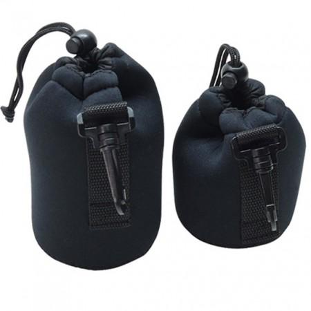 Neoprene Lens Cap Case Sleeve (Camera Bag) - Neoprene Lens Cap Case Sleeve