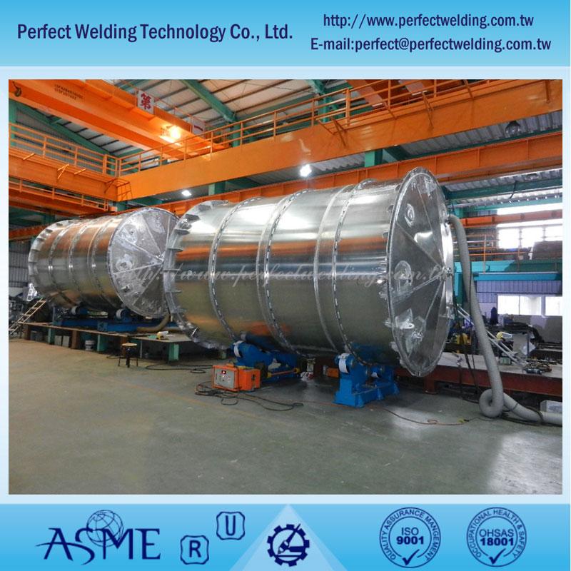 Tangki Aluminium untuk pabrik asam nitrat