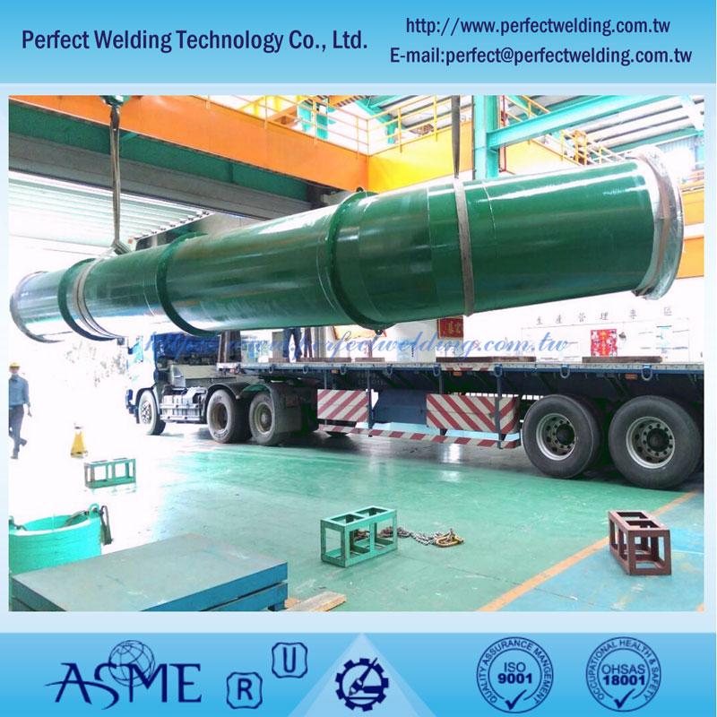 二重ステンレス鋼配管プロジェクト