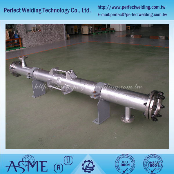 Tantalum Shell and Tube Heat Exchanger