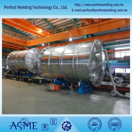 Aluminiumtank für Salpetersäureanlage - Aluminiumtank