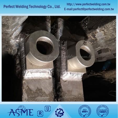 Reparaturservice für Aluminiumproduktschweißen - Reparatur von Aluminiumschweißnähten