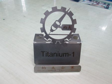 Dudukan Telepon Titanium - Dudukan Telepon Titanium