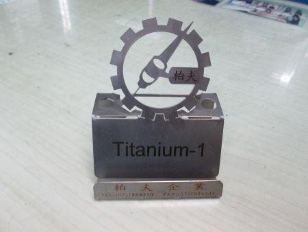 Titanium Phone Stand - Titanium Phone Stand