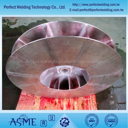 Титановый крыльчатка - Рабочее колесо Titanum