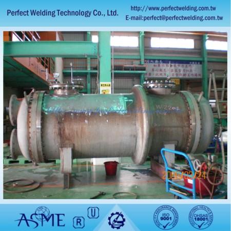 Sửa chữa sản phẩm kim loại đặc biệt - Sửa chữa phần cột Zirconium