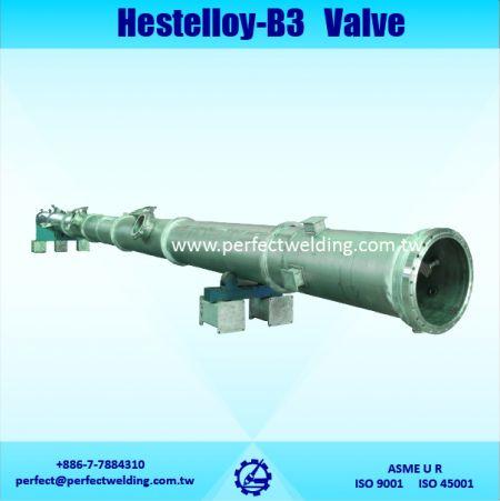 hastelloy B3 Valve Repair