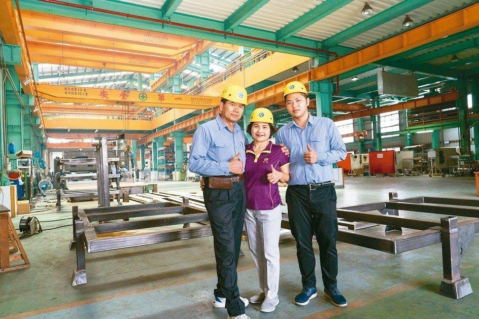 柏夫企業創設者のリアン・ハンビン(左から)と彼の妻であり、2代目の後継者であるリアン・ゾンヘ。 柏夫/供給。
