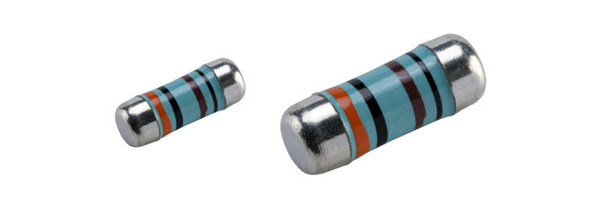 Metal Film Precision High Voltage MELF Resistor - CSRP Series