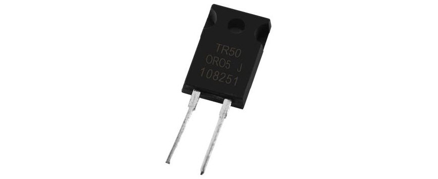 TO-220 Power Resistor (TR50-H Series TR50FBE6R20H)
