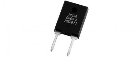 Resistencia de potencia (TR100 TR247 100W) - Resistencias de potencia TO-247 - Serie TR100