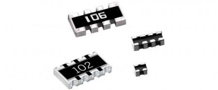 Matriz de resistencias (     Serie CN, CNA) - Resistencia de chip de matriz de película gruesa - Serie CN