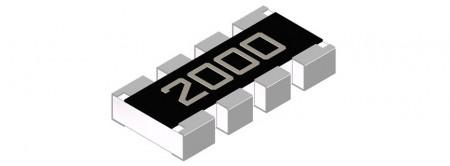 Matriz de resistencias ( Serie TFAN) - Resistencia de chip de matriz de película delgada - Serie TFAN