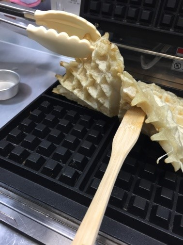Waffle Mix-Cleaning Purpose