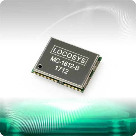 LOCOSYS MC-1612-B is a complete standalone GNSS module.