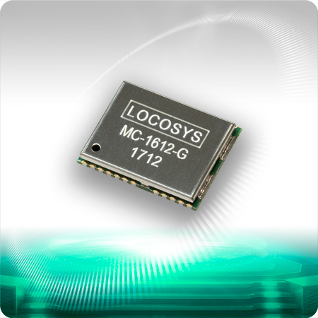 LOCOSYS MC-1612-G is a complete standalone GNSS module.