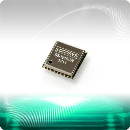 LOCOSYS S5-1010-2R GNSS module features high sensitivity, low power and ultra small form factor.