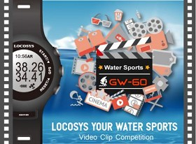 LOCOSYS Your Water Sports: Video Clip Competition