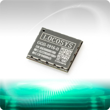 GGB-1916 GNSS / GPRS / Bluetooth Combo - GGB-1916 module is a versatile module that integrates GNSS, 2.5G GSM/GPRS and classic Bluetooth in a miniature QFN (Quad Flat No leads) form factor.