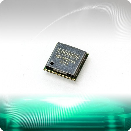 HD-1010-BA GNSS Module - LOCOSYS HD-1010-BA is a complete standalone GNSS module which uses CEC HED latest HD8020 GNSS chip to integrate with an additional LNA and SAW filter.
