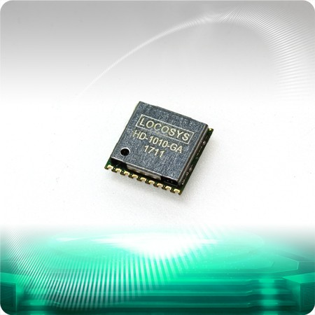 HD-1010-GA GNSS Module - LOCOSYS HD-1010-GA is a complete standalone GNSS module which uses CEC HED latest HD8021 GNSS chip to integrate with an additional LNA and SAW filter.