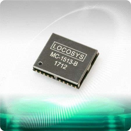 MC-1513-B GNSS Module - LOCOSYS MC-1513-B is a complete standalone GNSS module.