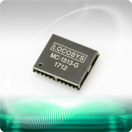 MC-1513-G GNSS Module - LOCOSYS MC-1513-G is a complete standalone GNSS module.