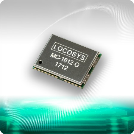 MC-1612-G GNSS Module - LOCOSYS MC-1612-G is a complete standalone GNSS module.