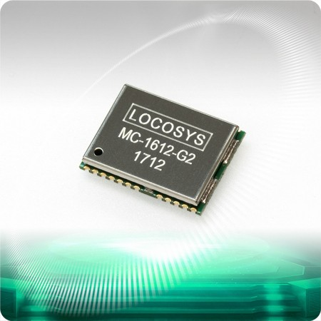 MC-1612-G2 GNSS Module - LOCOSYS MC-1612-G2 is a complete standalone GNSS module.