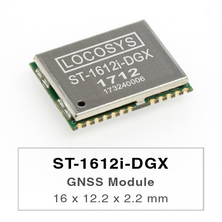 DR Module - The LOCOSYS ST-1612i-DGX Dead Reckoning (DR) module is the perfect solution for automotive application.