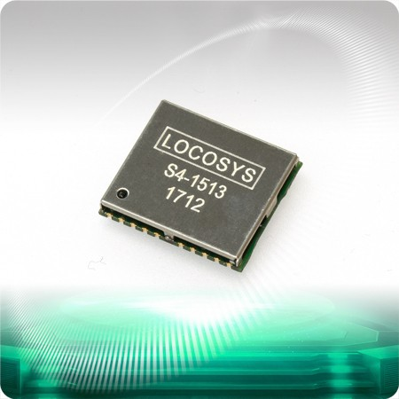 S4-1513 GPS Module - LOCOSYS S4-1513 GPS module features high sensitivity, low power and ultra small form factor.