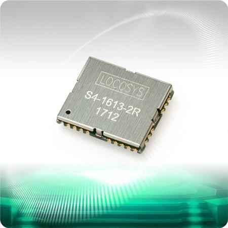 GPSモジュールS4-1613 - LOCOSYS S4-1613 GPSモジュールは、高感度、低消費電力、超小型フォームファクタを特長としています。 この   GPSモジュールはSiRF Star IVを搭載しています。