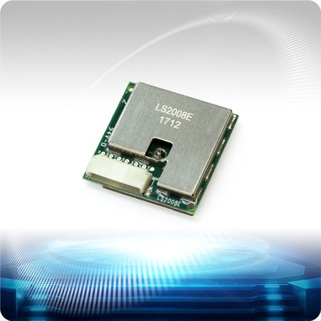 LS2008E Stand-alone GPS Smart Antenna - LS2008E is a complete standalone GPS smart antenna module, including an embedded patch antenna and GPS receiver circuits.